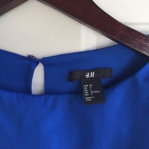 H&M Dresses - Blue dress with layered skirt